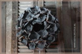 Krans palm cup| grey | 38 cm