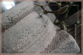 Kandelaar/poer Zen | old brown S
