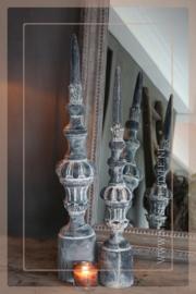 Kandelaar aardewerk baluster | S