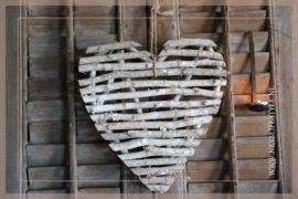 Krans hart birch twig   37 cm