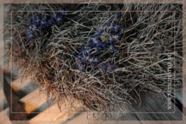 Krans iron brunch lavendel 28 cm