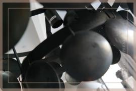 Schijfjeslamp Sober | black S