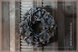 Krans palm cup| grey | 45 cm