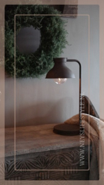 Tafellamp LED Can | roest