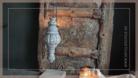 Pinakel hout hanger | greywash S