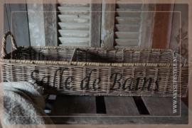 Badkamer mand 'Salle de bains' brown edition
