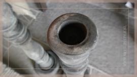 Vloerkandelaar 70 cm | oud grijs