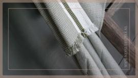 Plaid katoen streep | groen