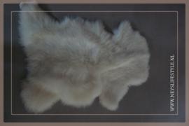 Toscaans lamsvacht 75-90 cm| wit