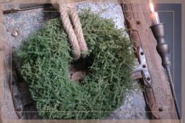 Asparagus krans | naturel 30-35 cm