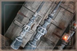 Kandelaar aardewerk baluster | M