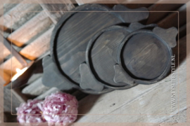 Chapati onderzetter | hout L