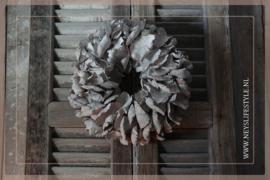 Krans palm petal | whitewash | 30 cm