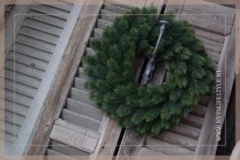 Kunst dennenkrans groen | 40 cm