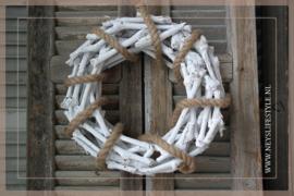 Krans Rope white   35cm