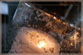 Windlicht cylinder metal | S
