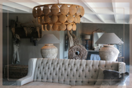 Schijfjeslamp excl fitting   roest L