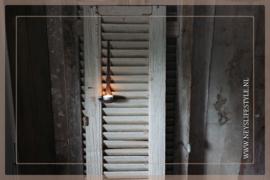 Oude shutter hout | 1