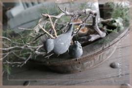 Vogel cement hanger | grey
