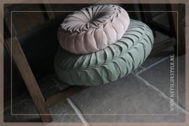 Velvet kussen mint groen| 60 cm