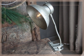 Klemlamp LED Oscar | brons