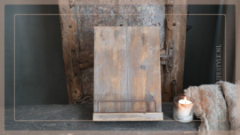 Boeken standaard | hout bruin