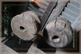 Katrol op standaard | hout
