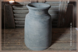 Claypot kruik grey