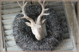 Krans glitter Salim | 30-35 cm