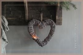 Hanger hart |  grey