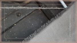 Kalkdoek ornament grijs | 1