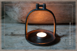 Waxinelichthouder stijgbeugel | black 2