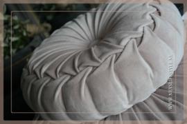 Velvet kussen soft pink | 40 cm