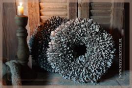 Krans Bakulli   whitewash   30 cm
