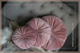 Round kussen old pink | L