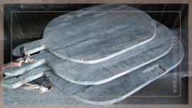 Set broodplanken   sober grey