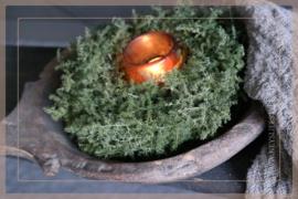 Asparagus krans | naturel 24 cm