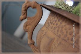 Franse pot met oren | roest