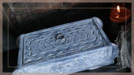Houten brickmall doosje | greywash