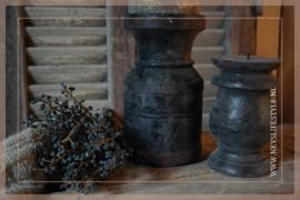 Kruik kandelaar black finish | S