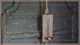 Wandkandelaar   hout