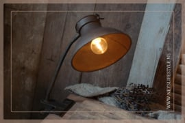Klemlamp LED Oscar | roest