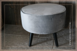 Footstool Tira | grey
