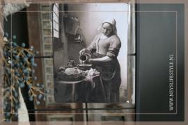 Deco bordje | Het melkmeisje