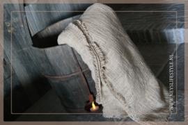 Plaid katoen geweven | bruin