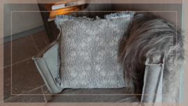 Kussen Nostalgisch 45 x 45 cm | grey
