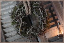 Krans bonsai mos |  25-30 cm
