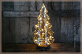 X-tree glas LED | goud