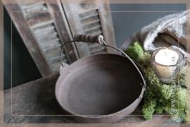 Dienblad pan | roest