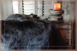 Toscaans lamsvacht 75-90 cm| donkerbruin